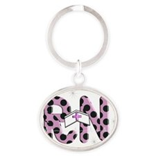RN PINK new 2011 Oval Keychain