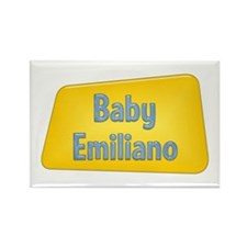 Baby Emiliano Rectangle Magnet