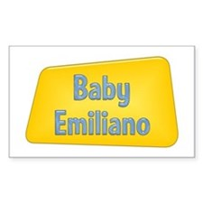 Baby Emiliano Rectangle Decal