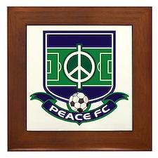 Peace FC Badge Logo2 Framed Tile