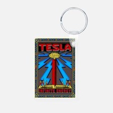 TESLA_COIL-2x3_magnet Keychains