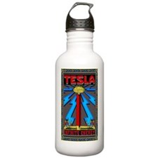 TESLA_COIL-5x8_journal Water Bottle