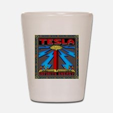 TESLA_COIL-11x11_pillow Shot Glass