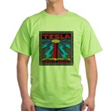 Nikola tesla Green T-Shirt