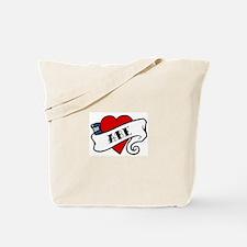 Abe tattoo Tote Bag