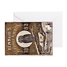 Vennors Almanac Greeting Card