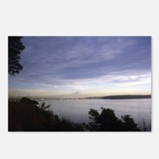 Seattle and Mt Rainier-Mi Postcards (Package of 8)