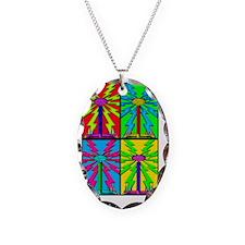 TESLA_COIL_HOL_2x3_magnet Necklace