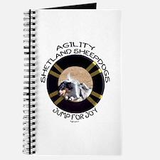 Agility Shetland Sheepdogs Jump Journal