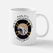 Agility Shetland Sheepdogs Jump Mug