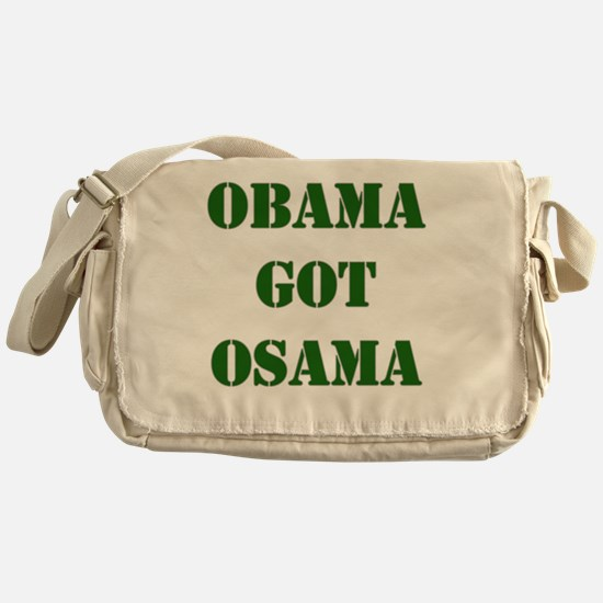 obama osama Messenger Bag
