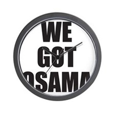 We_Got_Osama Wall Clock
