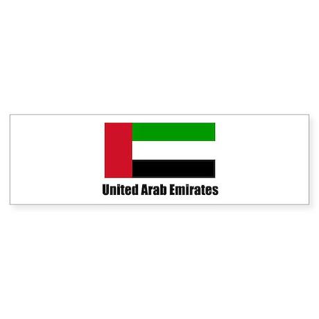 United Arab Emirates Flag T S Bumper Sticker