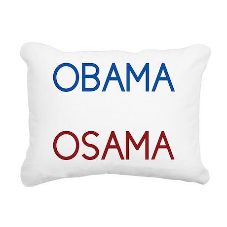 obama2 Rectangular Canvas Pillow