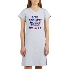 501 day justice for 911 Women's Nightshirt