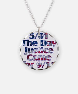 501 day justice for 911 Necklace