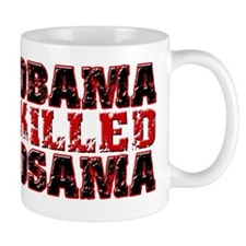 Obama Killed Osama (distressed) copy Mug