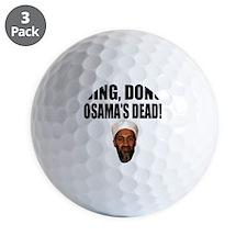 Ding Dong OSAMAs Dead Golf Ball