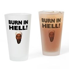 Burn in Hell Drinking Glass