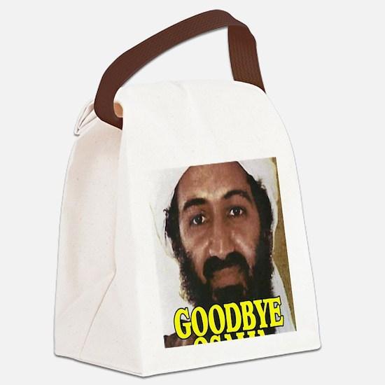 GOODBYOSAMA Canvas Lunch Bag