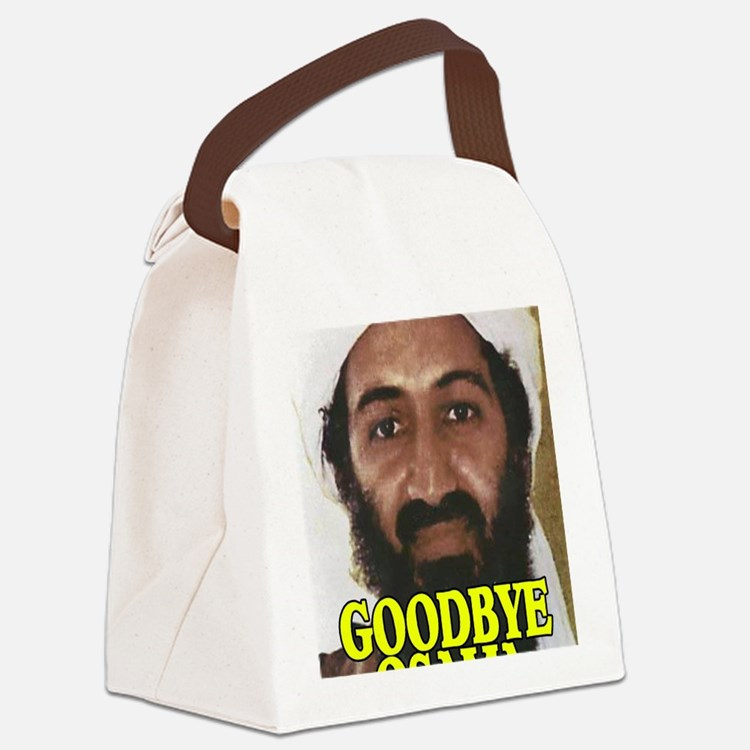 GOODBYOSAMA Canvas Lunch Bag