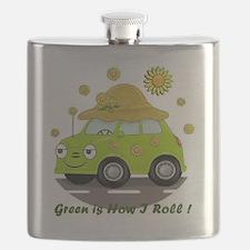 honey white Flask