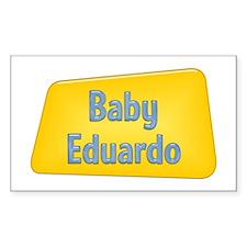Baby Eduardo Rectangle Decal
