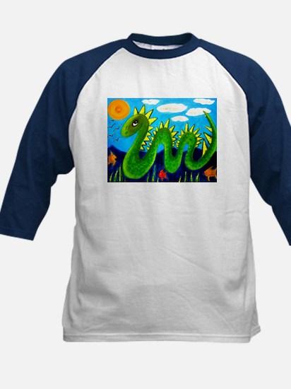 """VERDIGRIS THE SEA DRAGON"" Kids Baseball Jersey"