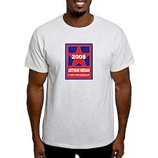 Arthur Regan for president (s Ash Grey T-Shirt