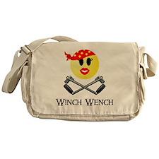 Lotus Winch Wench final print Messenger Bag