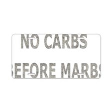 carbsmarbs Aluminum License Plate