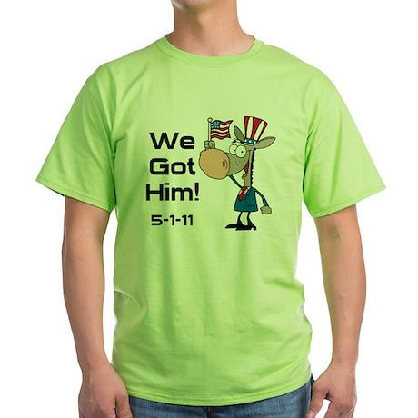 DONKEYGOTHIM2 Green T-Shirt