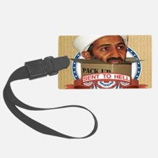 SENT TO HELL Luggage Tag