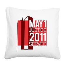 Osama Bin Laden Dead Square Canvas Pillow