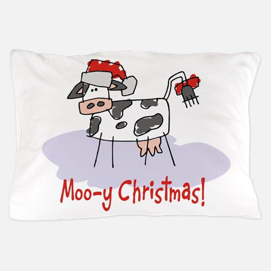 Madcow Pillowcase Designs: Cow Christmas Pillow Covers   Pillow Cases   Throw Pillow Covers    ,
