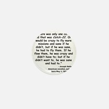 Heller Catch-22 Quote Mini Button