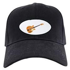 Hollow Body Electric Guitar Baseball Hat