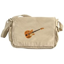 Hollow Body Electric Guitar Messenger Bag