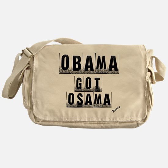 Obama got um Messenger Bag