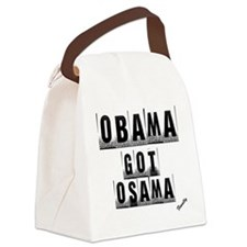 Obama got um Canvas Lunch Bag