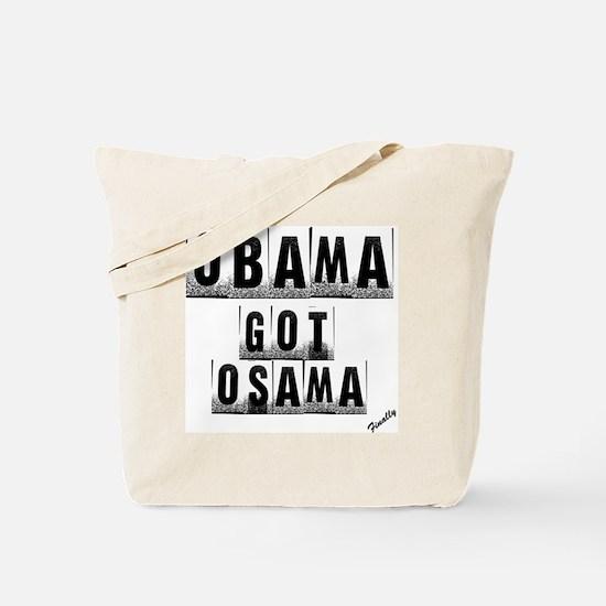 Obama got um Tote Bag