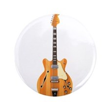 "Hollow Body Electric Guitar 3.5"" Button"