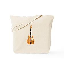 Hollow Body Electric Guitar Tote Bag