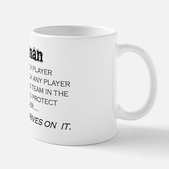 defenseman Mug