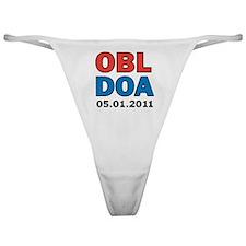 OBL DOA 3c white Classic Thong
