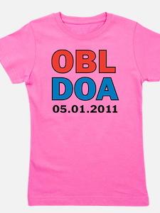 OBL DOA 3c white Girl's Tee