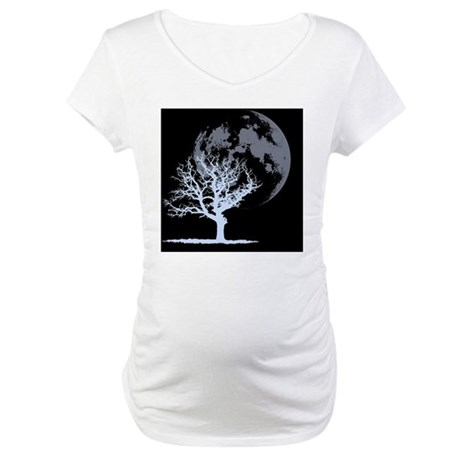 deadtree_dark_BLEED Maternity T-Shirt