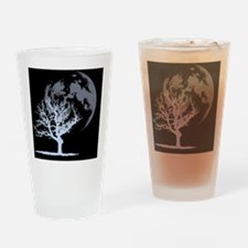 deadtree_dark_BLEED Drinking Glass