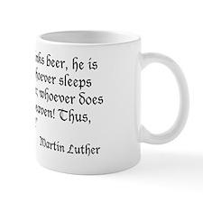 LutherBeerQuote Mug