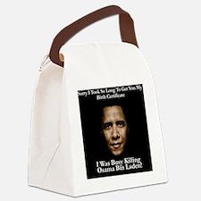OsamaKillObamaSHIRT Canvas Lunch Bag